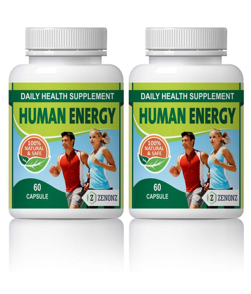 zenonz Human Energy Increase Ability Capsule 500 mg Pack Of 2