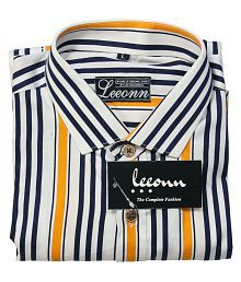 ed7b478685d Stripes Shirt: Buy Stripes Mens Shirts Online at Low Prices - Snapdeal