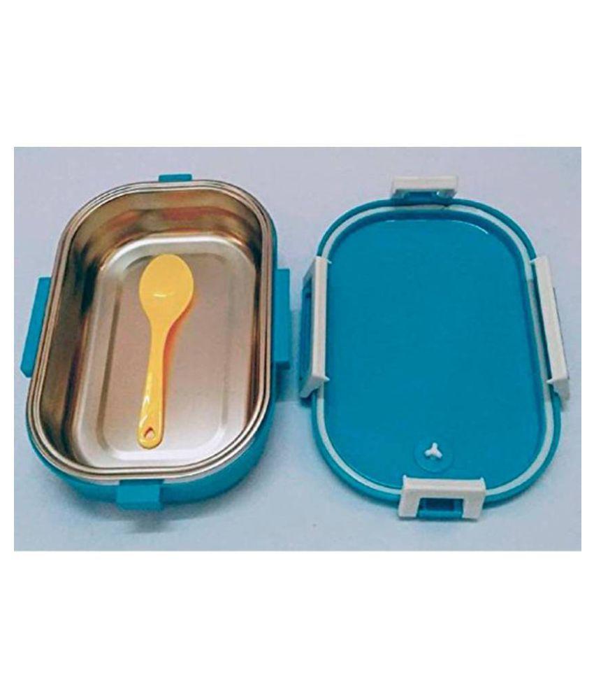 Jeeya Blue Steel Lunch Box