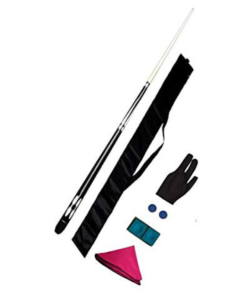 LGB Pool, Snooker Designer Cue in 9 mm Size with Cue Cover, Glove and Cue Cleaning Cloth