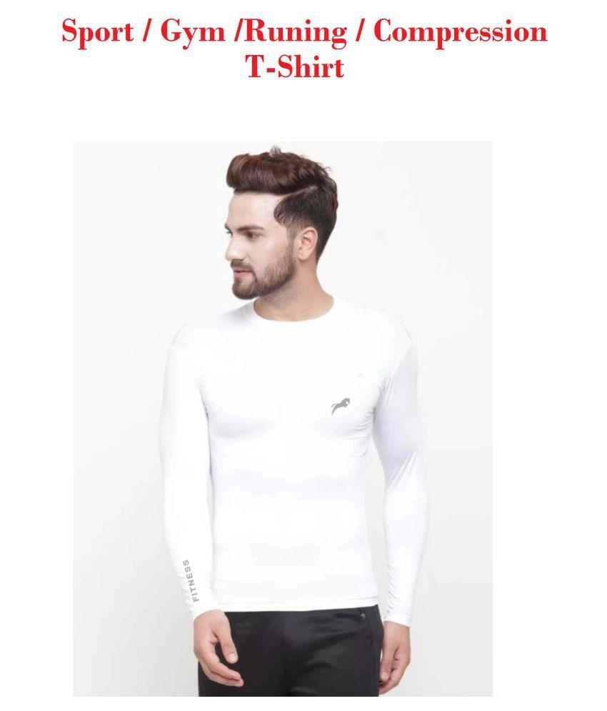Just Rider Men Sport Full Sleeve T-Shirt