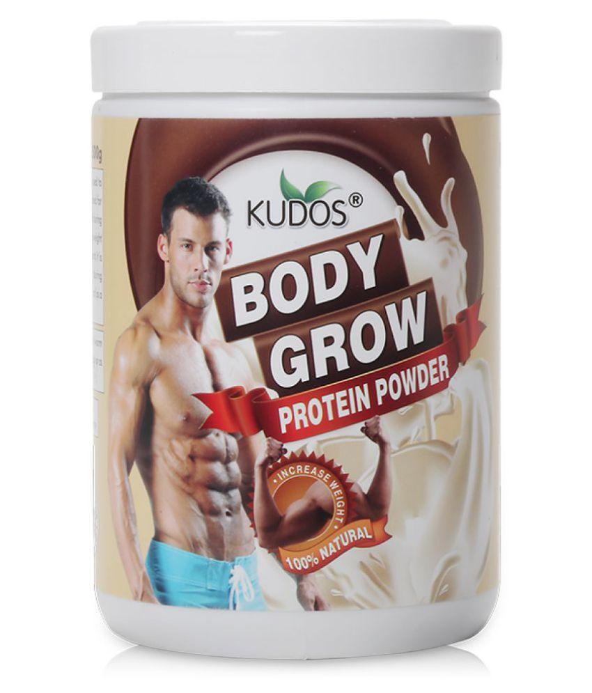 Kudos Ayurveda Body Grow Protein Powder 500 gm Weight Gainer Powder