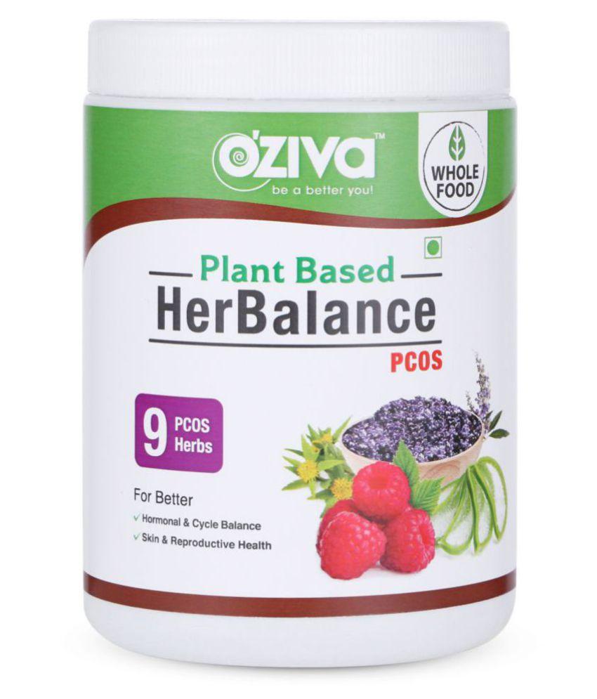 OZiva OZiva Plant Based HerBalance PCOS, 250 gm Lemon Multivitamins Powder
