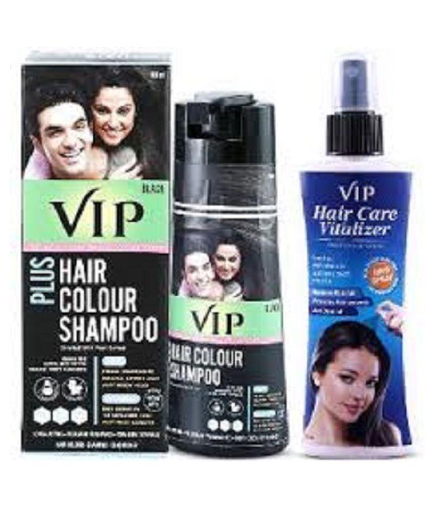 HAIR COLOR SHAMPOO WITH  HAIR VITALIZER