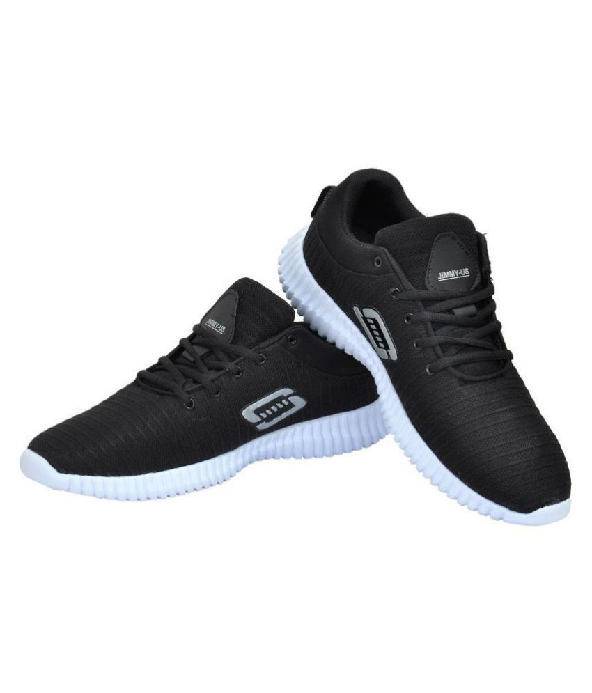 JIMMY-US Sneakers Black Casual Shoes