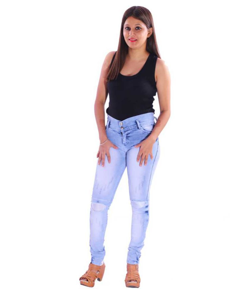 AZAD DYEING Denim Jeans - Blue