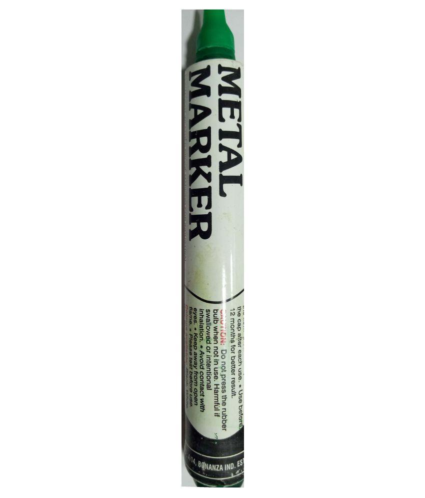 Century 2MM Green Permanent Metal Marker Pump Type