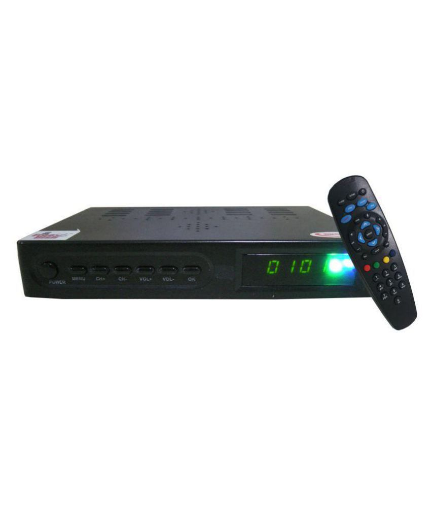 MCBS SD DD MPEG 4 ICAS DTH SET TOP BOX with Other Subscription Free
