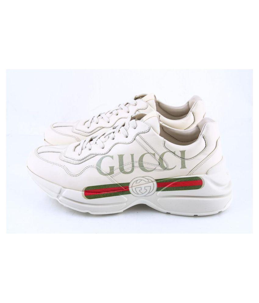 Buy Gucci RHYTON White Gold White