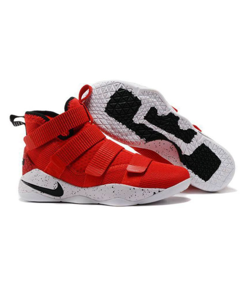 size 40 c0573 a82ea Nike LEBRON ZOOM SOLDIER 11 University Midankle Male Red