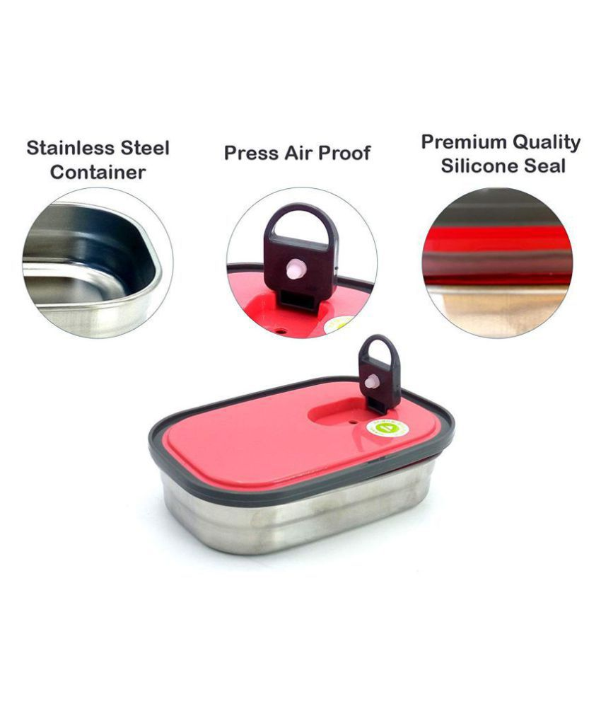 Ivarian Red Lunch Box