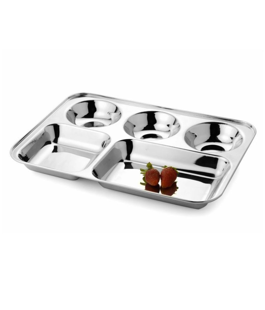 BRRL Stainless Steel Dinner Set of 3 Pieces