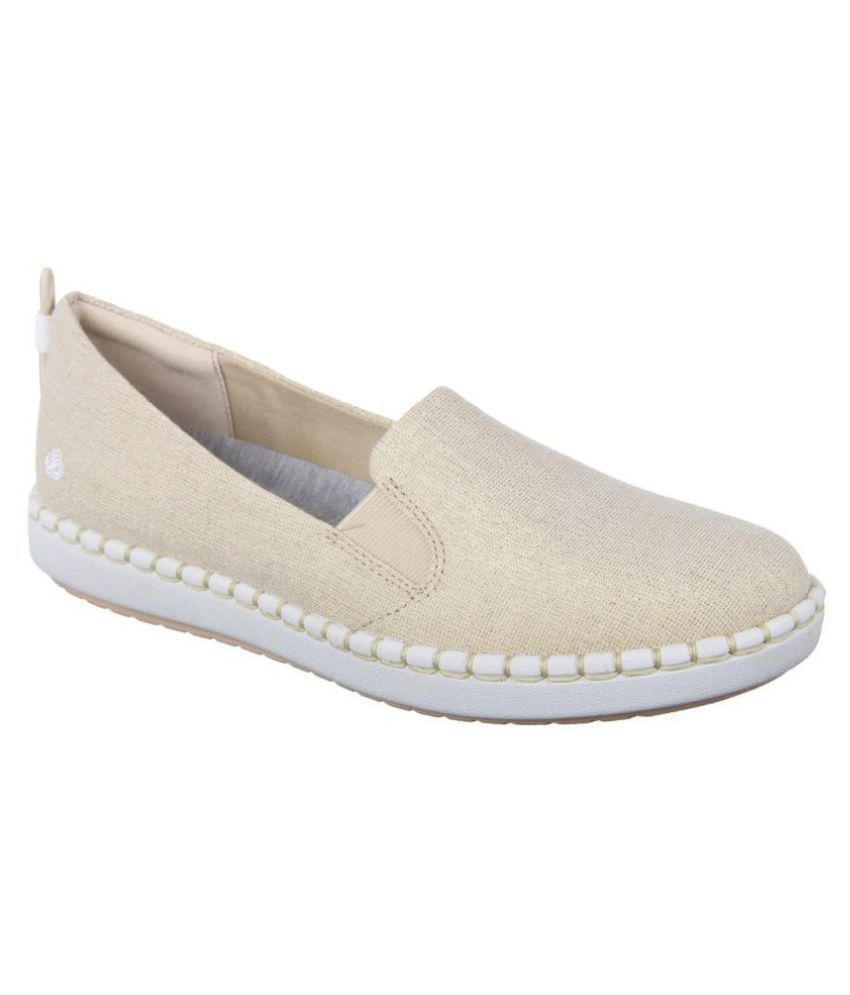 Clarks Gold Casual Shoes
