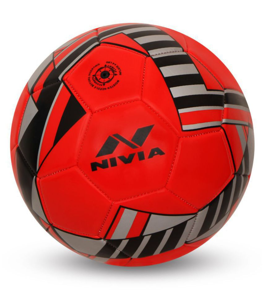 Nivia Blade Red Football Size  3
