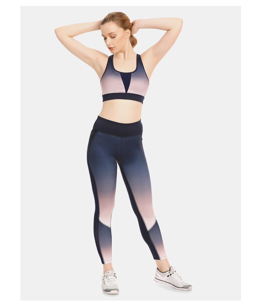 Zelocity Multi Polyester Solid Tights