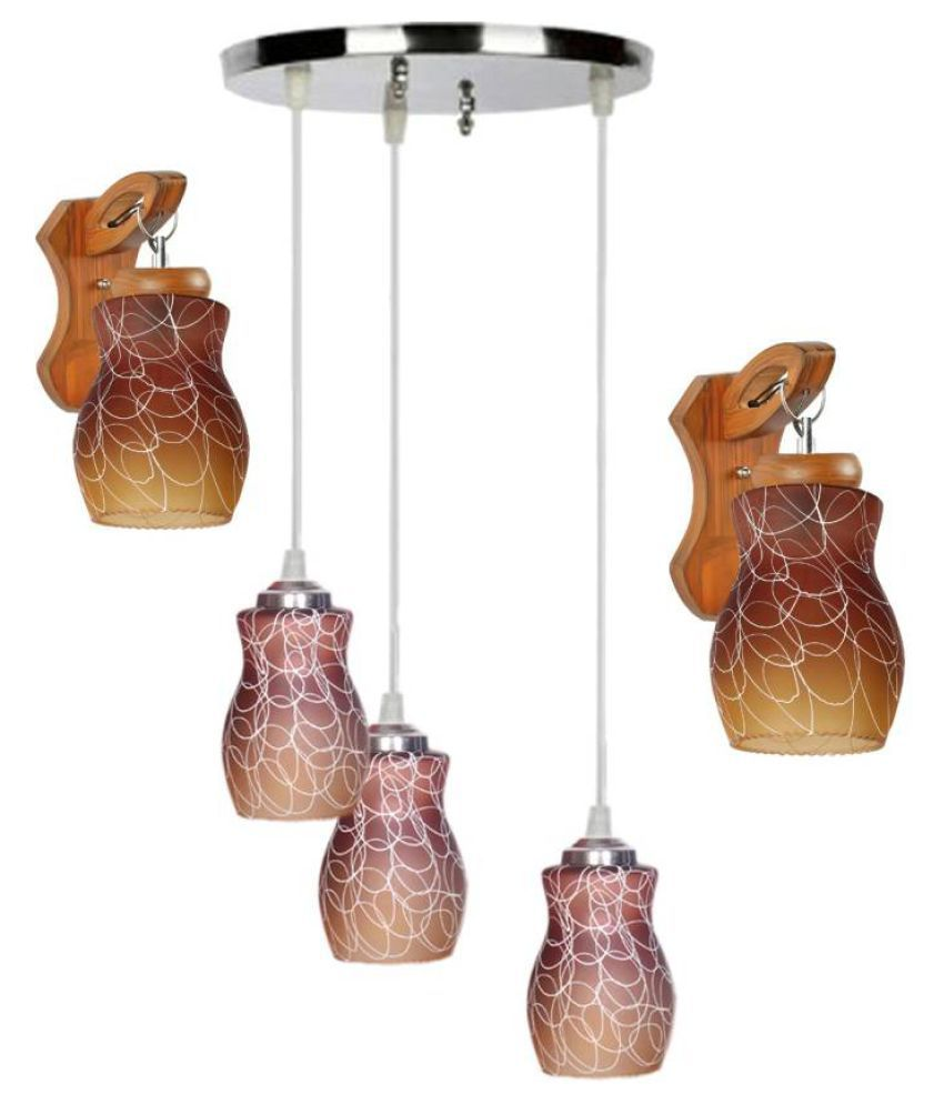 AFAST Glass Pendant Multi - Pack of 3