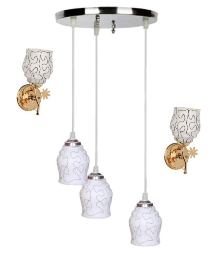 AFAST Glass Pendant Off White - Pack of 3