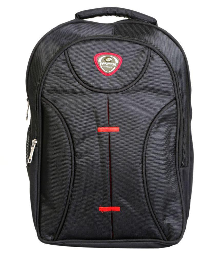 PARADISE Black School Bag for Boys & Girls