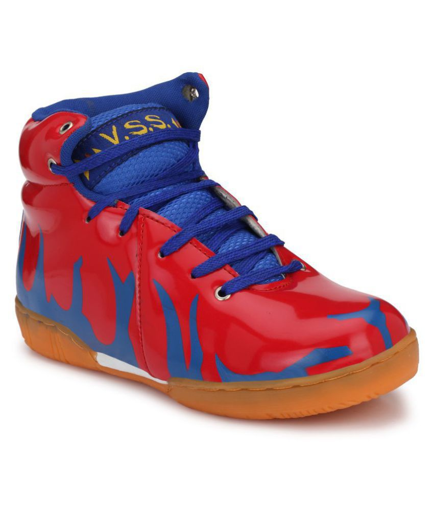 VSS Red Basketball Shoes