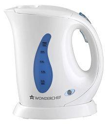 Wonderchef Acura 0.6 Liter 800 Watt Plastic Electric Kettle