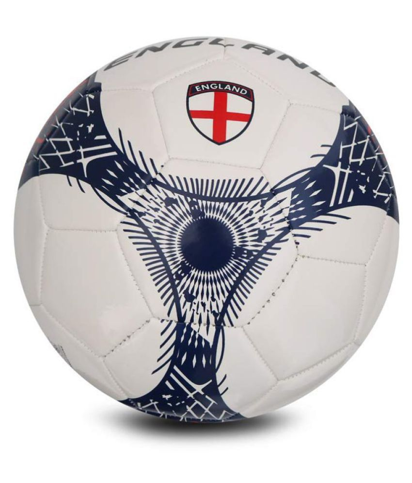 Vector X France TPU Synthetic White Football Size  5