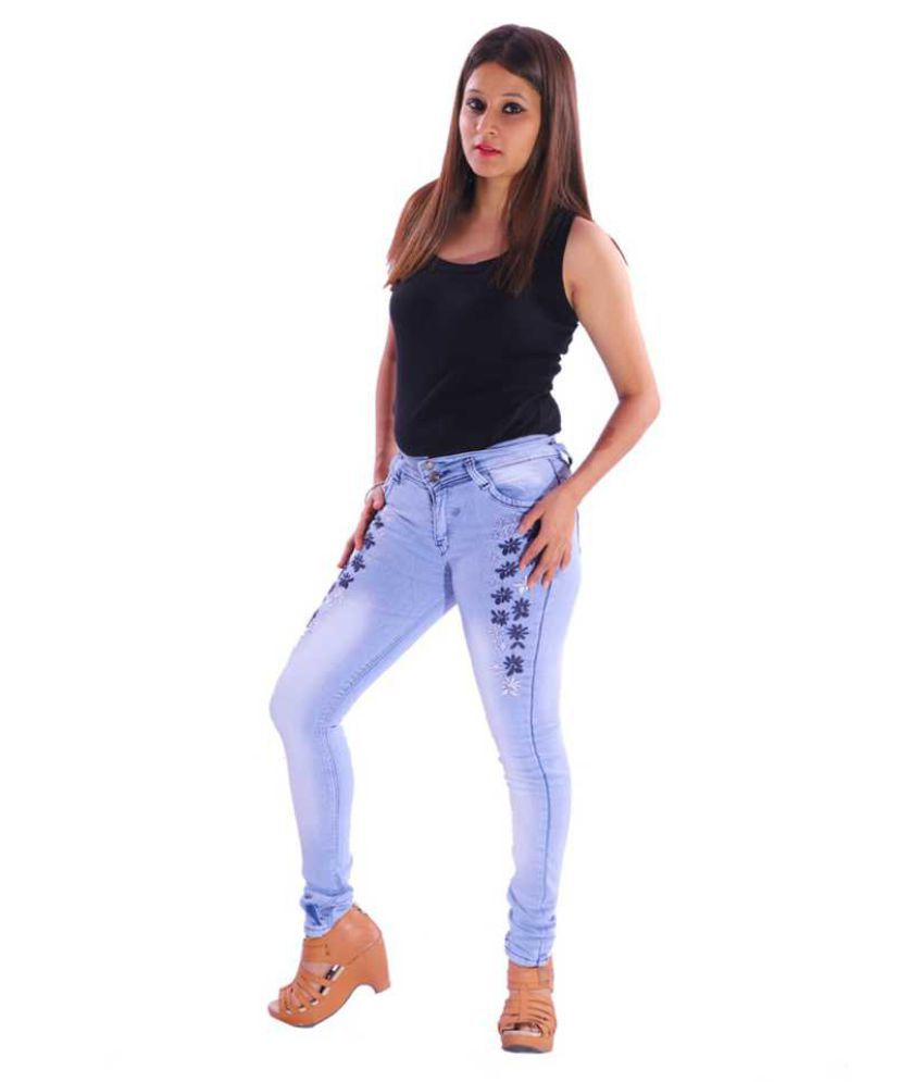 VISCARIA Denim Jeans - Blue