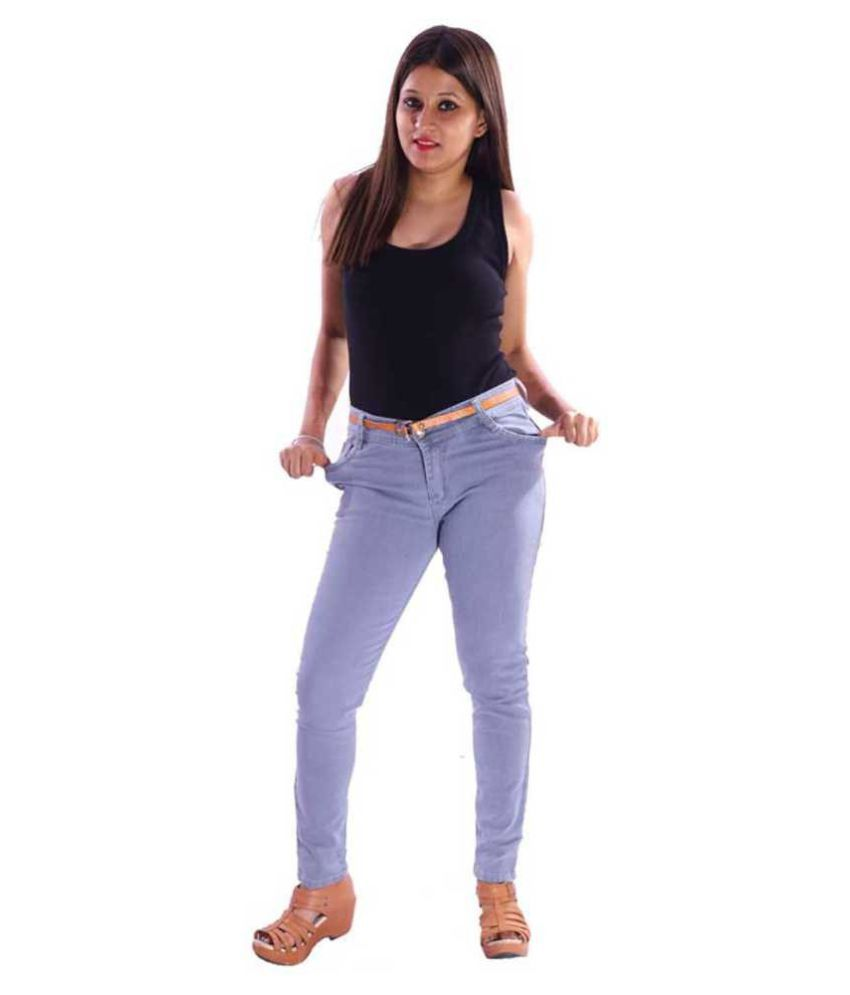 VISCARIA Denim Jeans - Blue