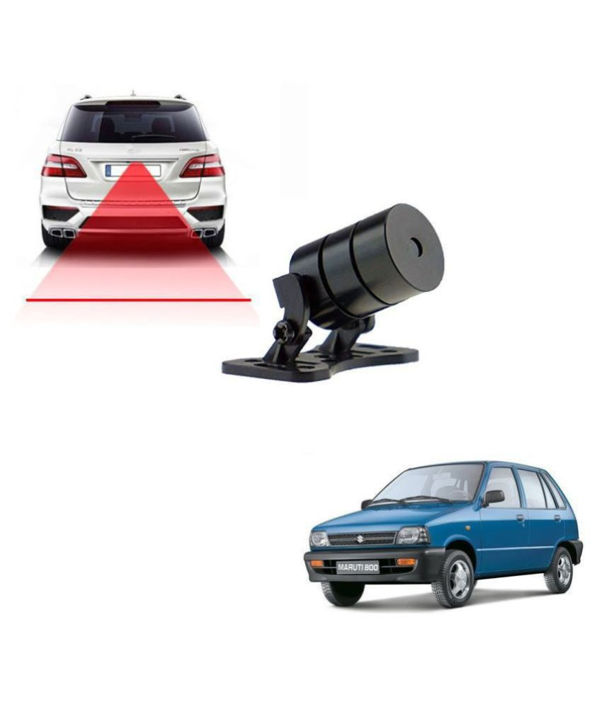 Auto Addict Car Styling  Anti Collision Safety Line Led Laser Fog Lamp,Brake Lamp,Running Tail Light-12V Cars For Maruti Suzuki 800
