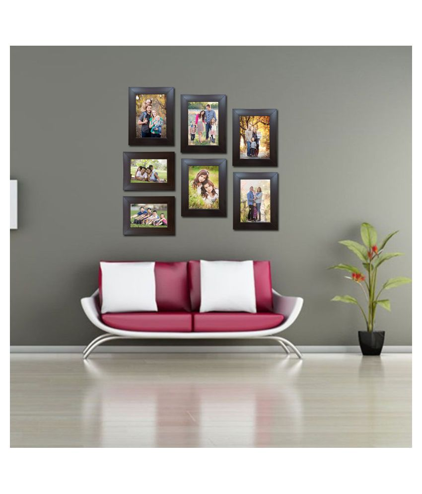 Decora Acrylic Brown Photo Frame Sets - Pack of 7