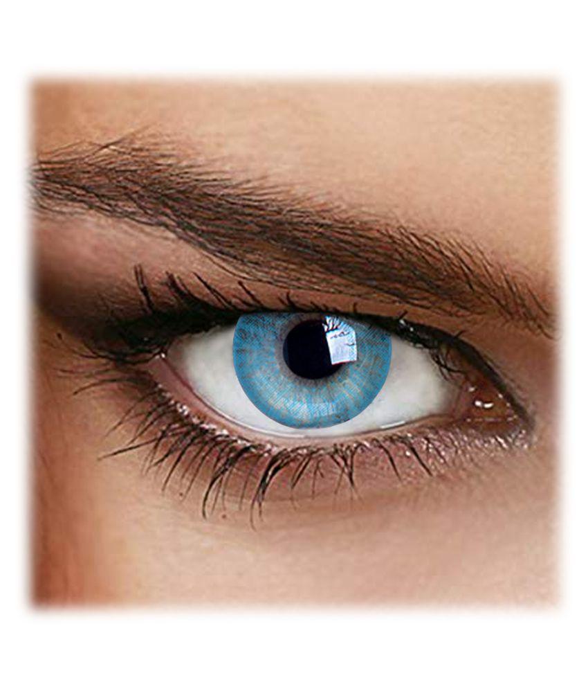 Color2eyes Blue  Perfection Quarterly Disposable Color Lenses