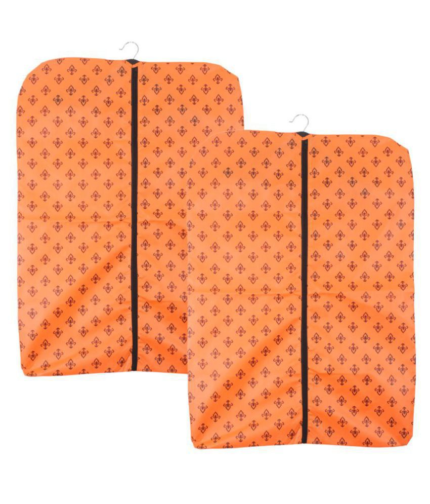 PrettyKrafts Foldable Non Woven Coat Cover  Set of 2 pcs