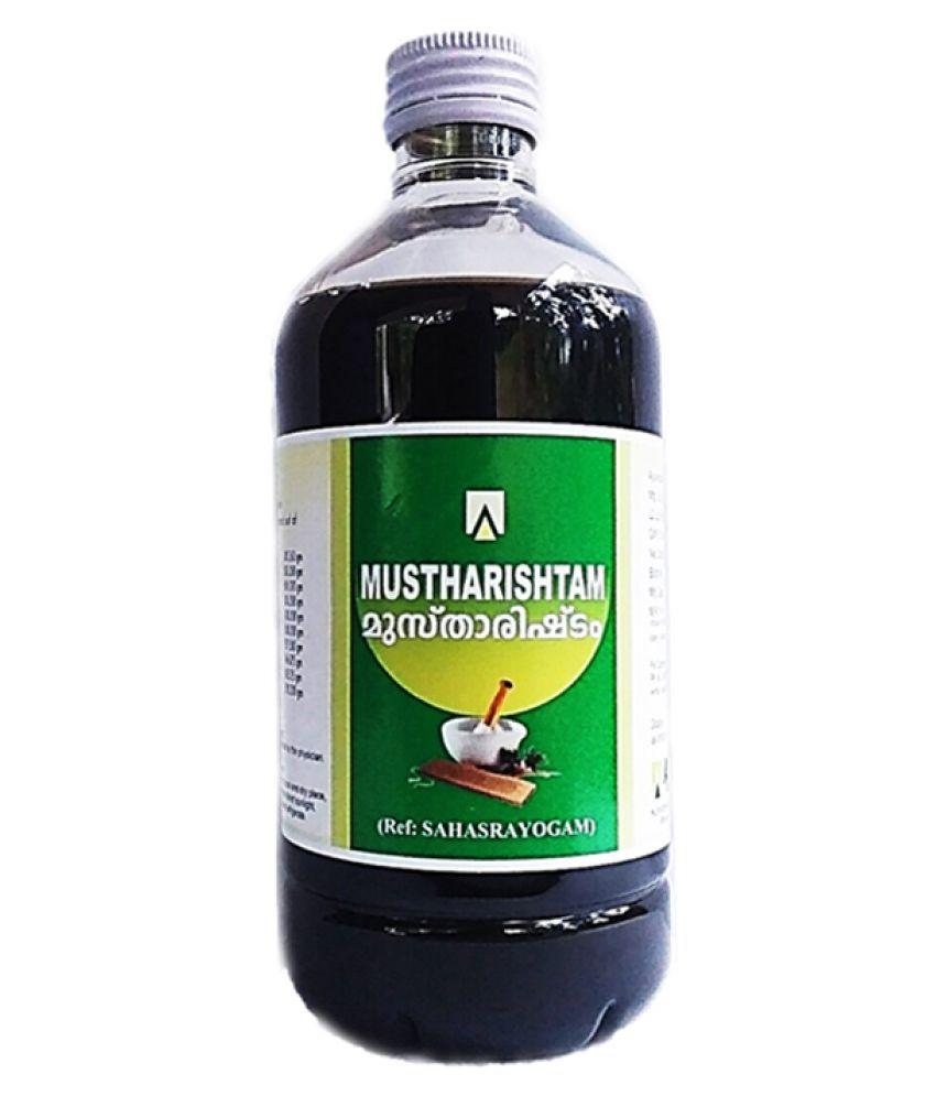 Aswini Pharmaceuticals Mustharishtam Liquid 450 ml Pack Of 1