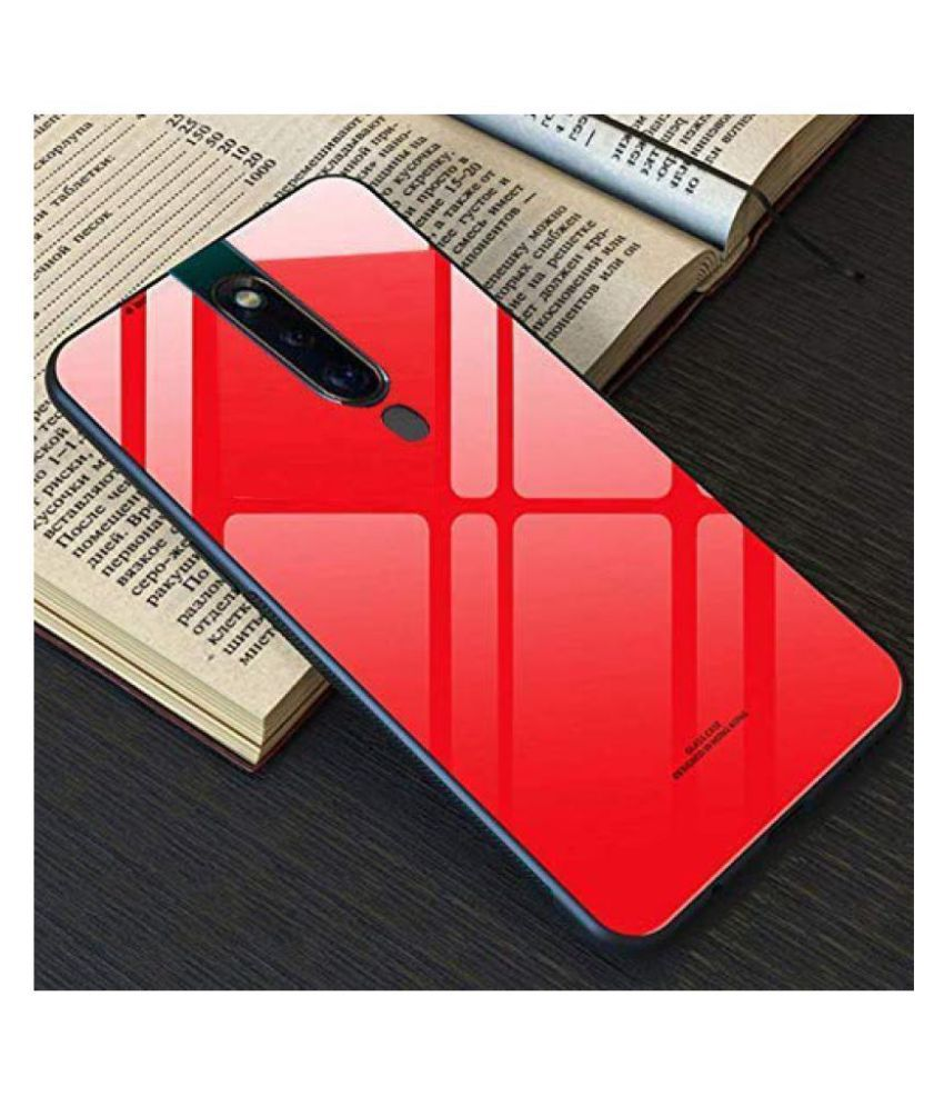 Xiaomi Redmi K20 Pro Glass Cover Bright Traders - Red