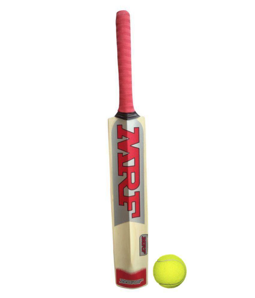 MRF Genius Test (Virat's signature) - Popular Willow Cricket Bat ( For Hard Tennis Ball)