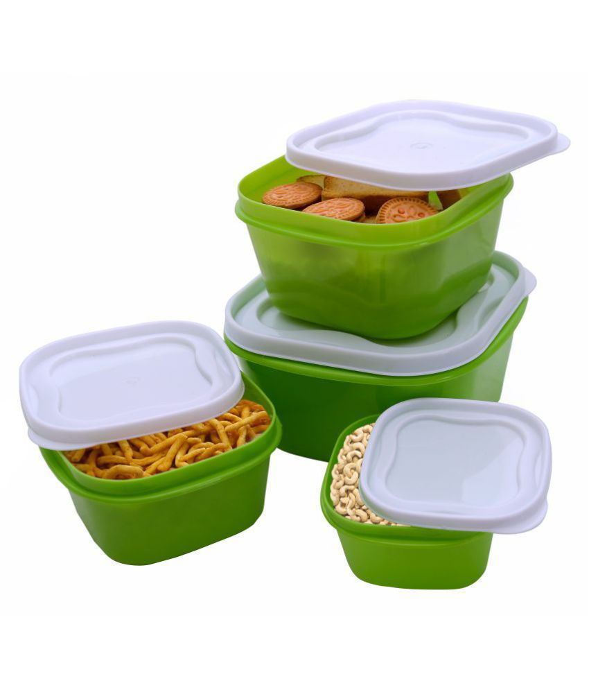 Your Choice Polyproplene Food Container Set of 4 5000 mL