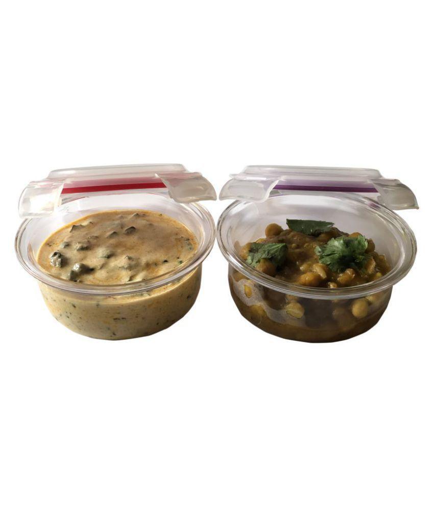 Vertis Multicolour Glass Lunch Box