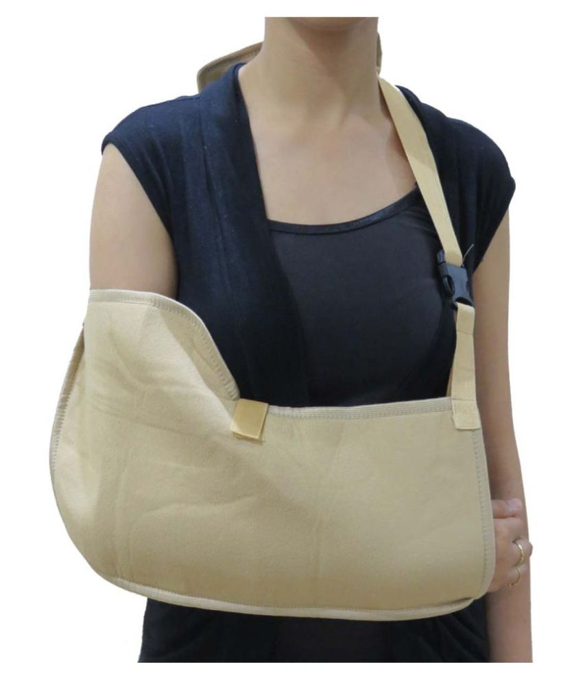 Acco Hand Pain Relief from Fracture Pouch Arm Sling L