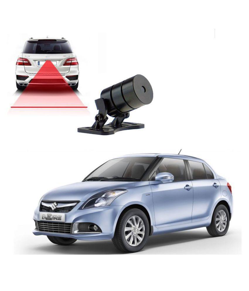 Auto Addict Car Styling Anti Collision Safety Line Led Laser Fog Lamp,Brake Lamp,Running Tail Light-12V Cars For Maruti Suzuki Swift Dzire Type-2(2011-2017)