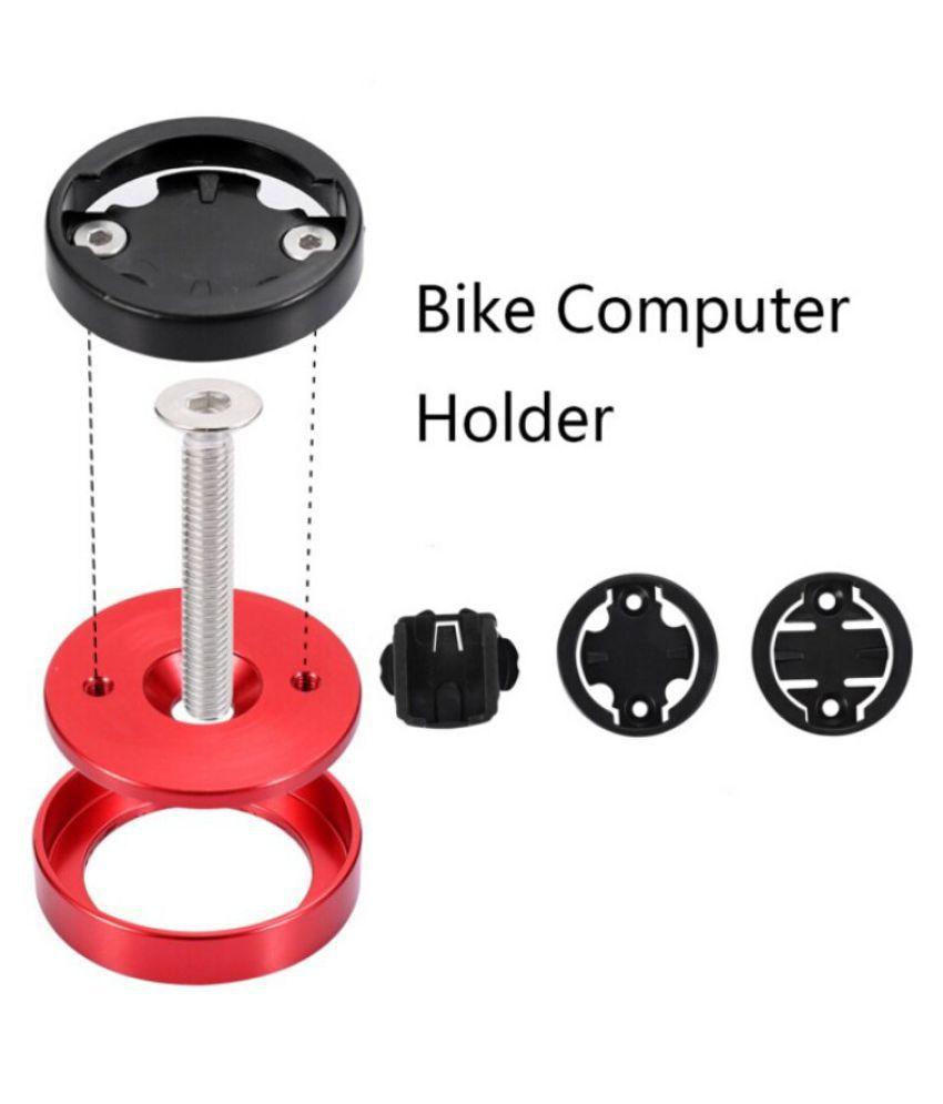 #N//A MTB Road Bike Bicycle Computer Holder Stem Top Cap Stopwatch Mount Bracket