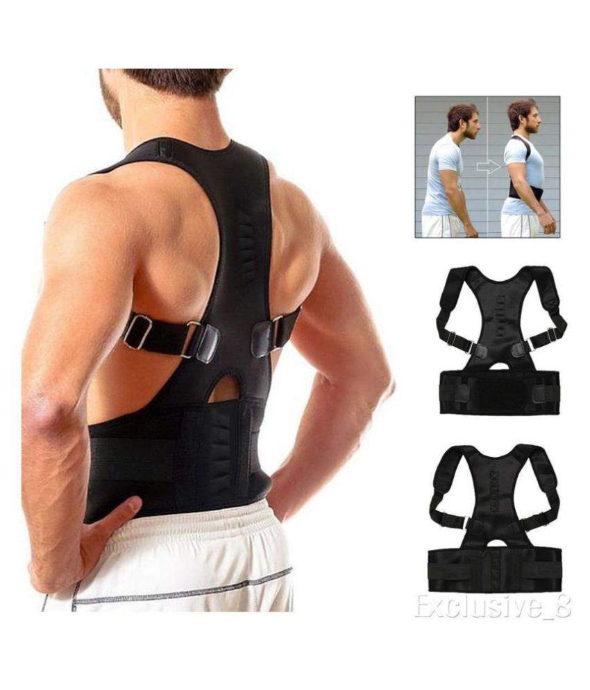 Shop World Real Doctors+Posture Back Support Belt (L,,XL.) L