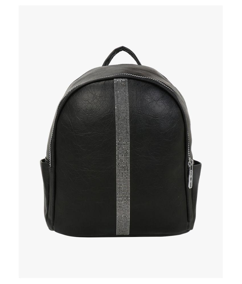 Satchel Bags & Accessories Black P.U. College Bag