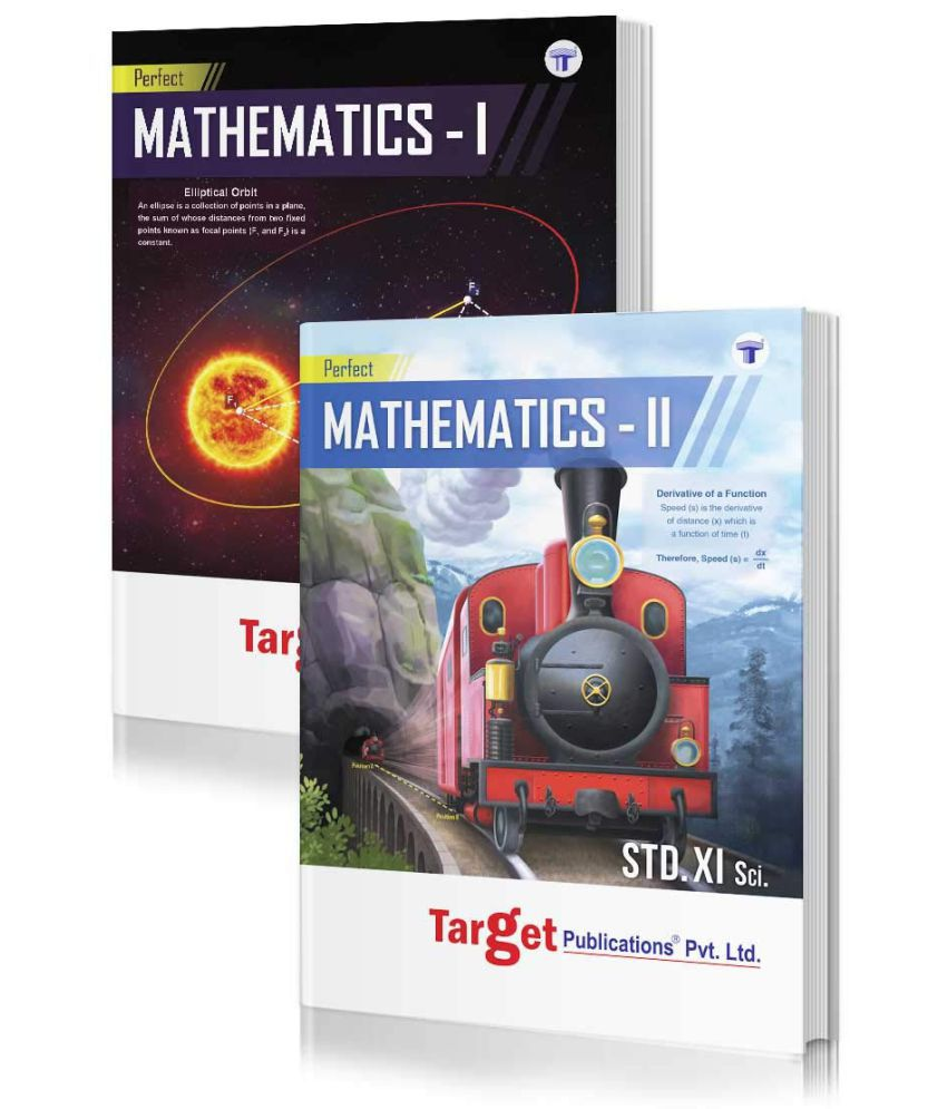 Std 11 Perfect Maths 1 & 2 Books Combo | FYJC Maths Guide | Science & Arts Maharashtra State Board Notes | Based on Std 11th New Syllabus 2019 - 2020 | Also Includes Practice Problems, Activity Based Questions, Competitive Corner & Smart Check