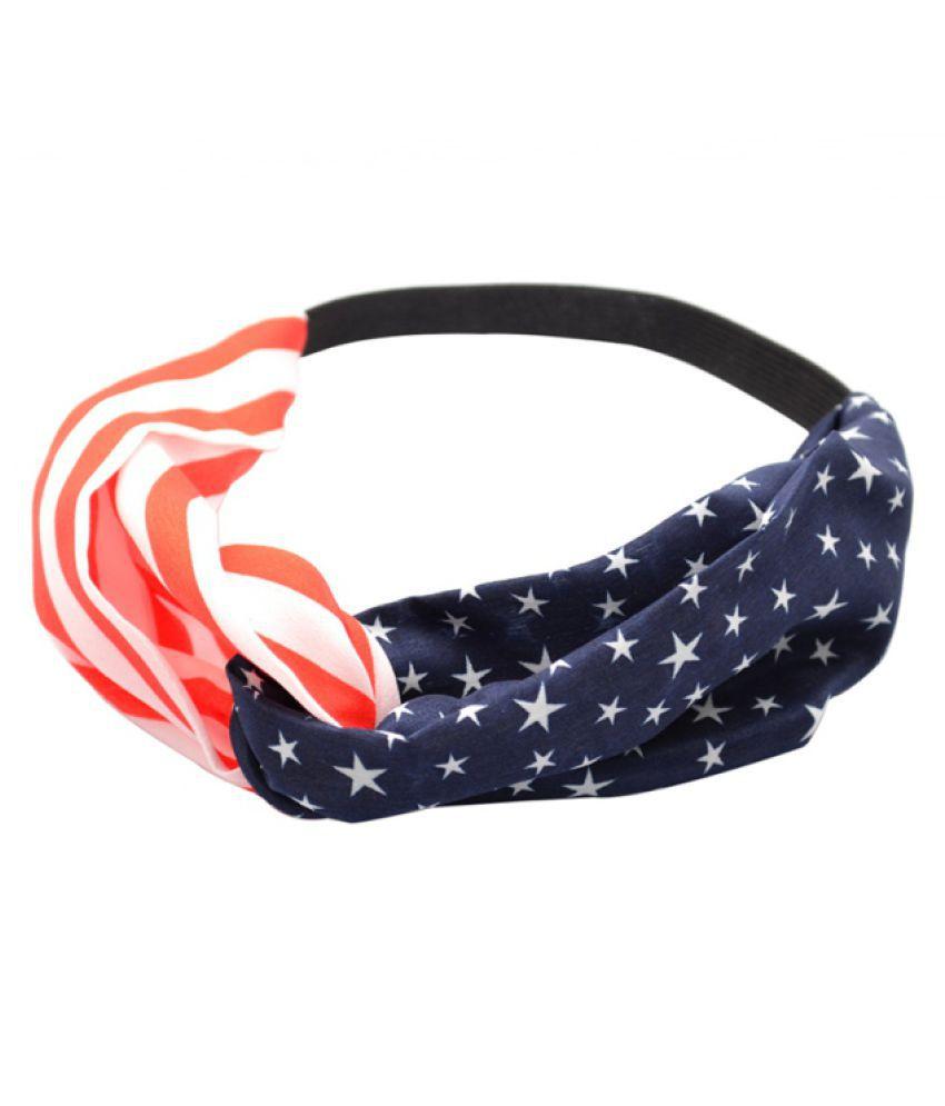 Women Yoga Hair Band Twisted Knotted Headband Running Sports Travel Fitness Elastic Non Slip Lightweight Headbands