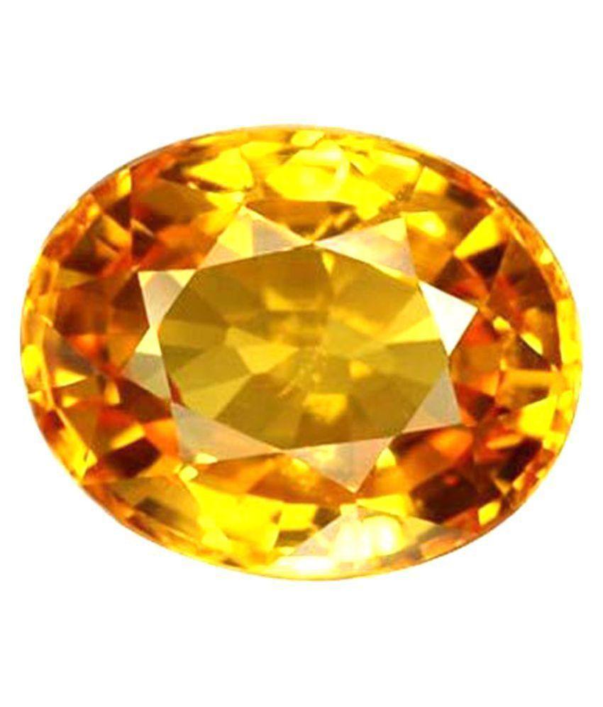 Retrend Design 8 -Ratti IGL Yellow Yellow Sapphire (Pukhraj) Semi-precious Gemstone