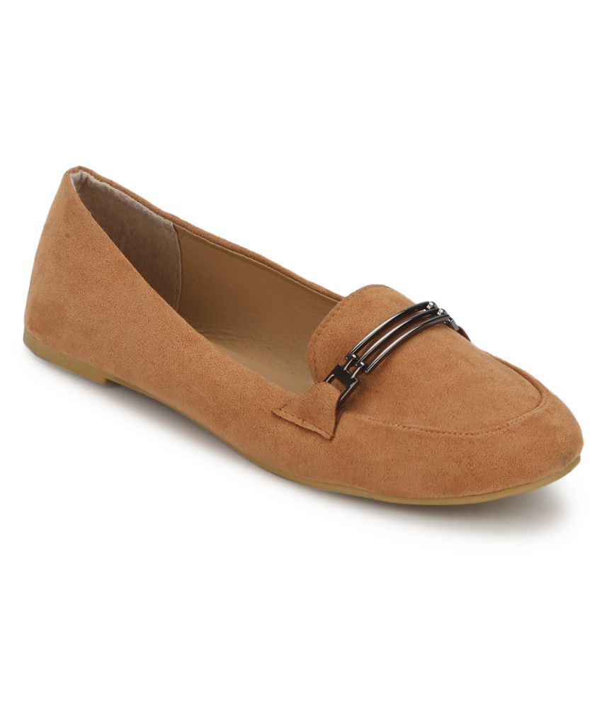 Truffle Collection Tan Casual Shoes