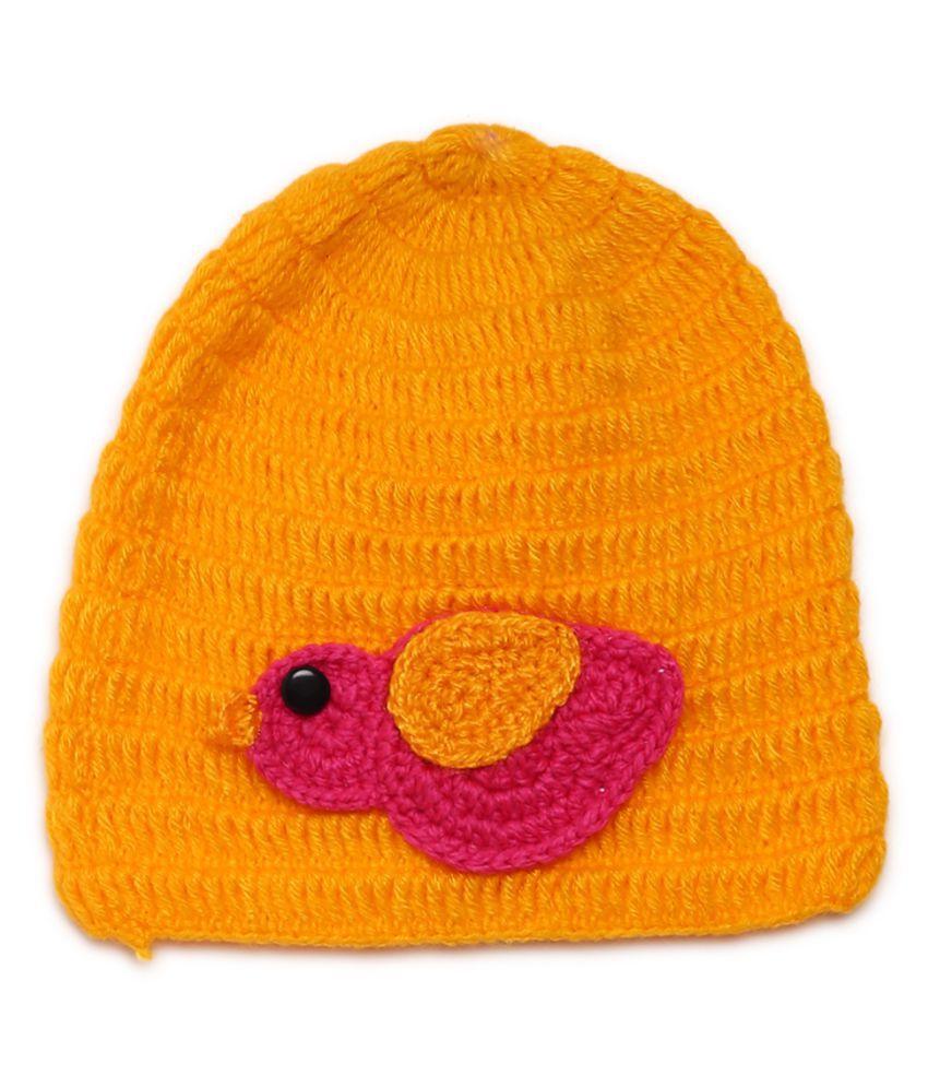 CHUTPUT Yellow Baby Cap