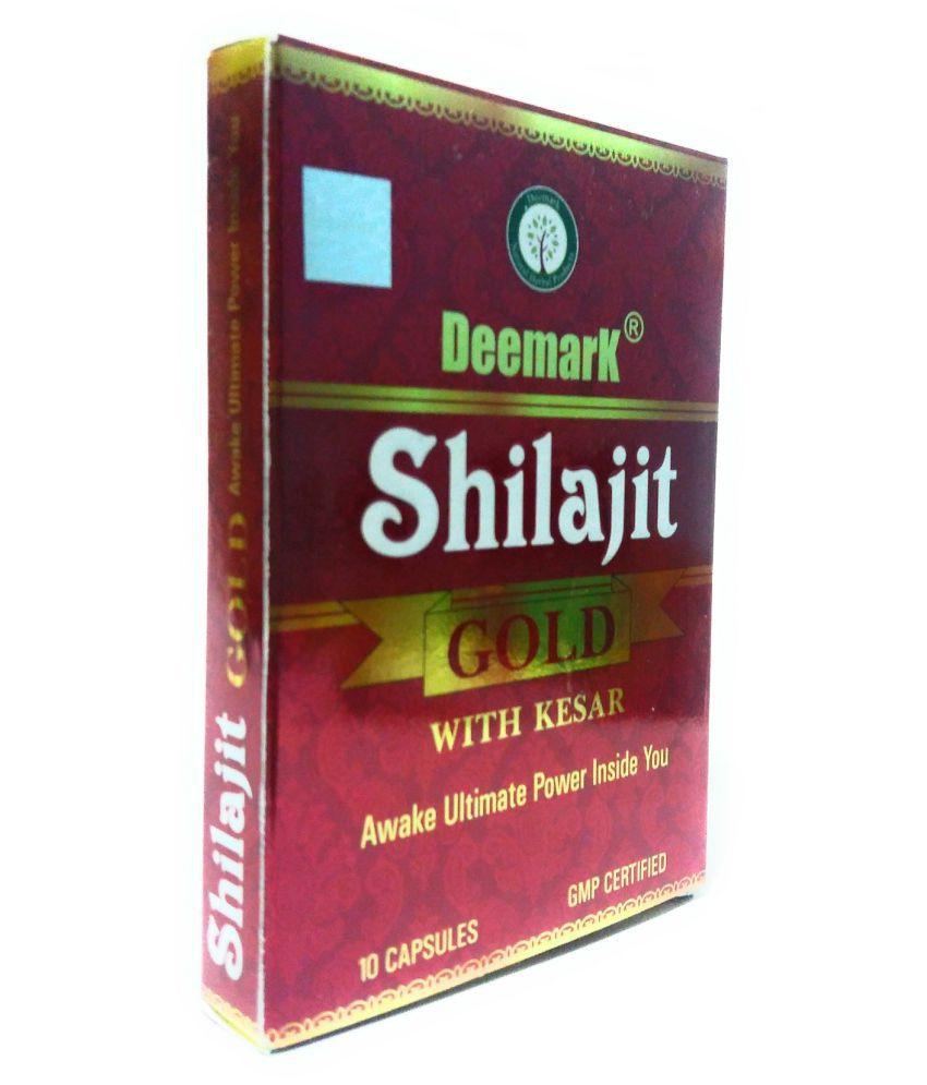 Deemark Shilajit with Kesar Capsule 3 no.s