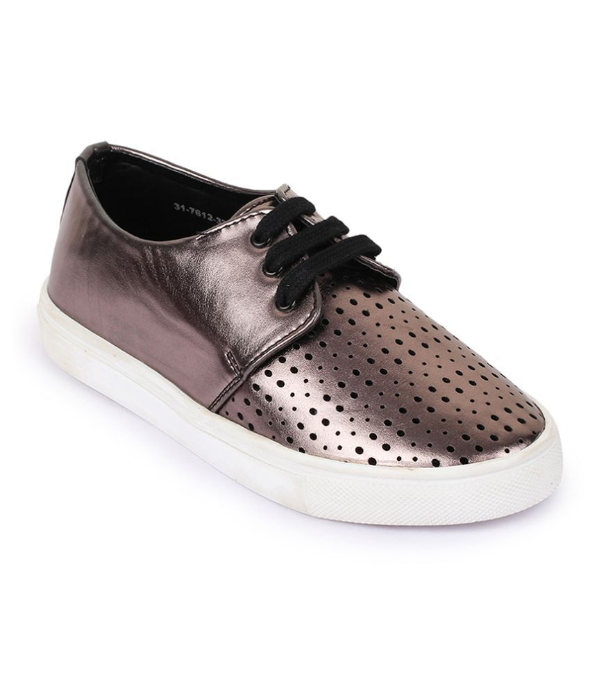 Bruno Manetti Gray Casual Shoes