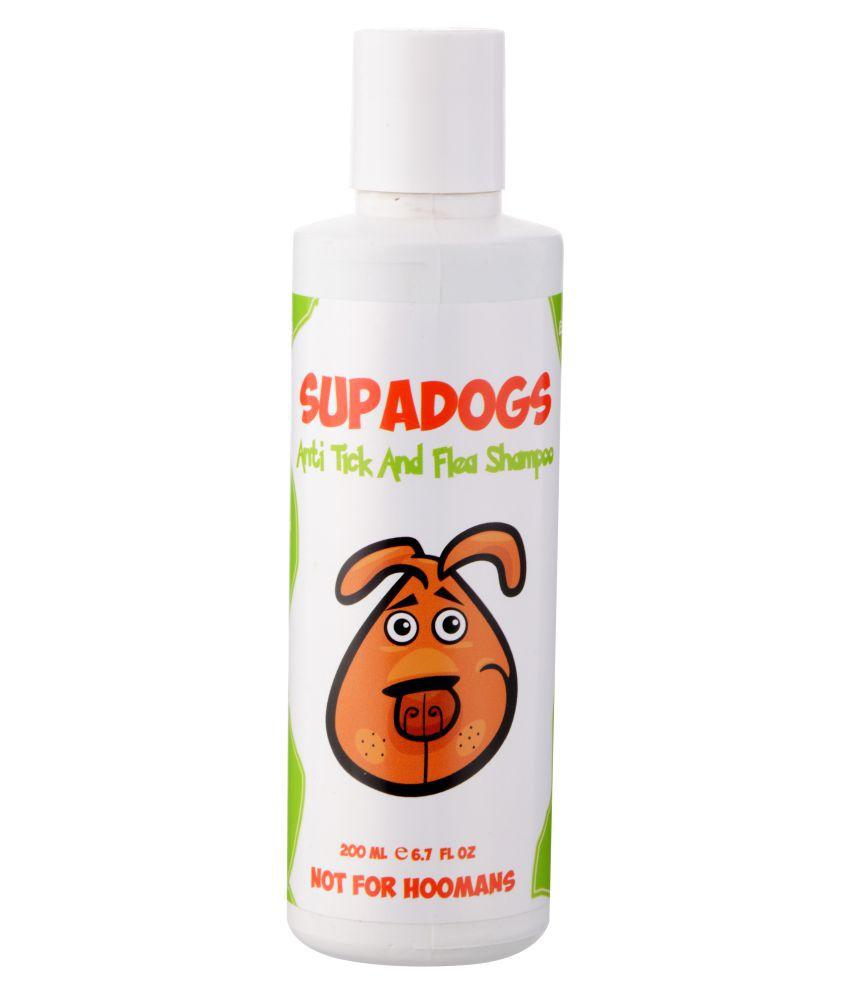SUPADOGS Anti Tick & Flea Shampoo for Dogs 200ml