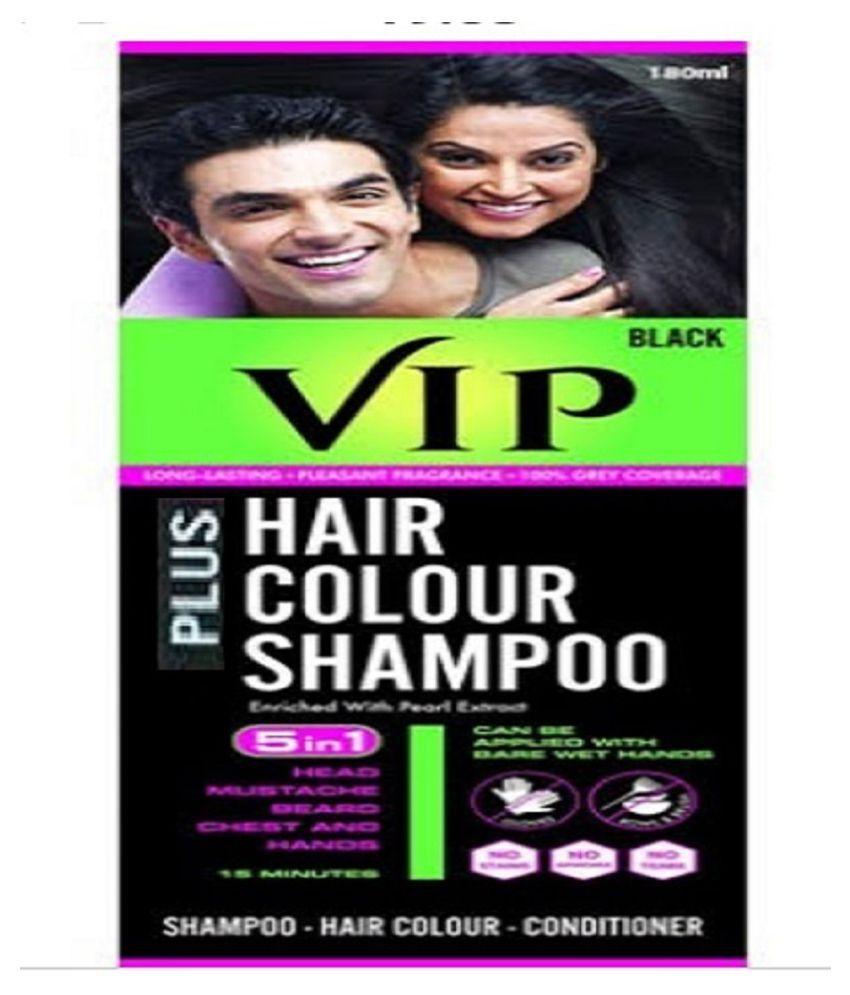 VIP Temporary Hair Color Black 180 mL